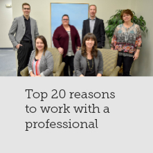 Top 20 Reasons to use an Investment Professional