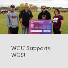 WCU Supports WCS Bleacher Project!