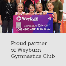 Proud Partner of Weyburn Gymnastics Club