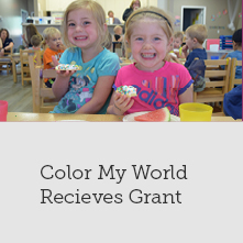 Color My World Community Fund Grant