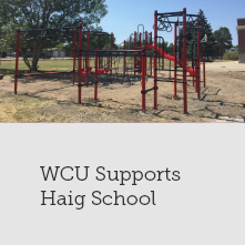 WCU Supports Haig School