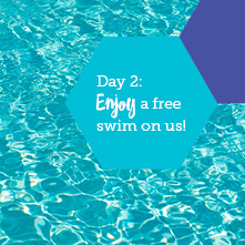 Enjoy a free swim on us!